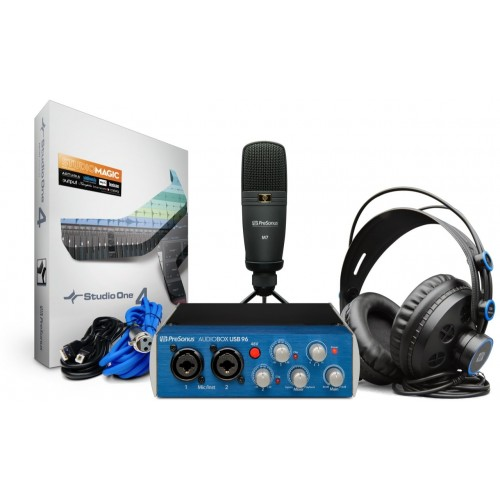 PreSonus AudioBox iTwo Studio Complete M...