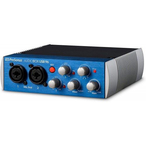 PreSonus AudioBox USB® 96: 2x2 USB 2.0 ...