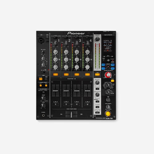 Pioneer DJ Mixer DJM-750-K