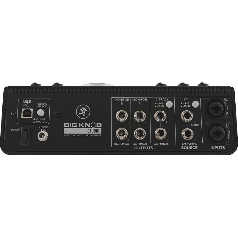 Mackie BIG KNOB STUDIO Monitor Controller Interface