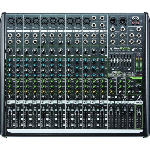 Mackie ProFX16v2 Mixer with USB and Effects
