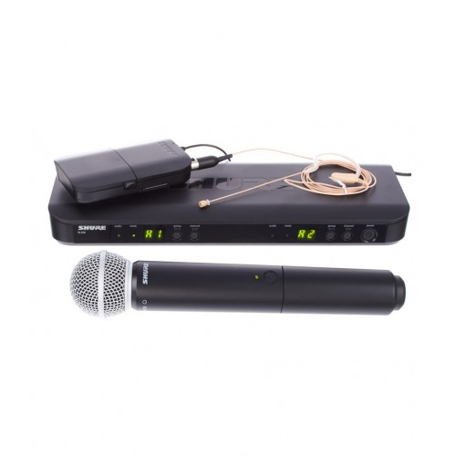 Shure BLX1288 COMBO W MX153 AND SM58
